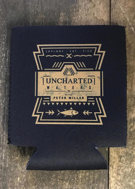 Uncharted Waters Neoprene Koozie