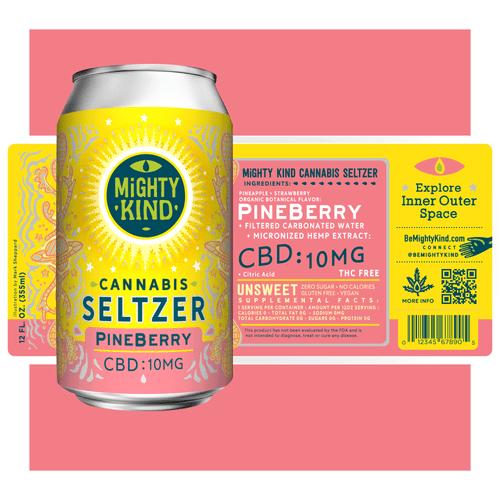 PineBerry Seltzer