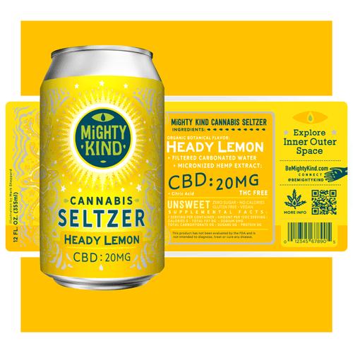 Heady Lemon Seltzer