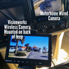 """Vision Works HD Wireless Rearview Observation Kit with Quadview Recordable 9"""" Monitor and Camera Kit"""