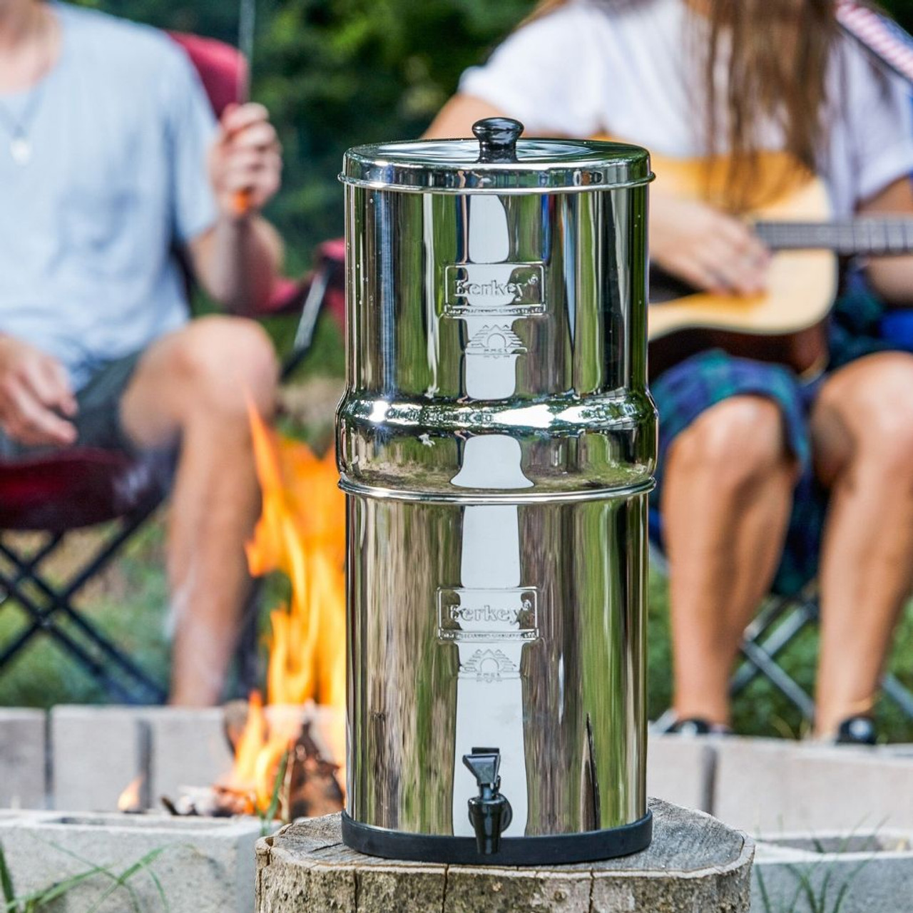 Portable Water Filter for Camping and RVs