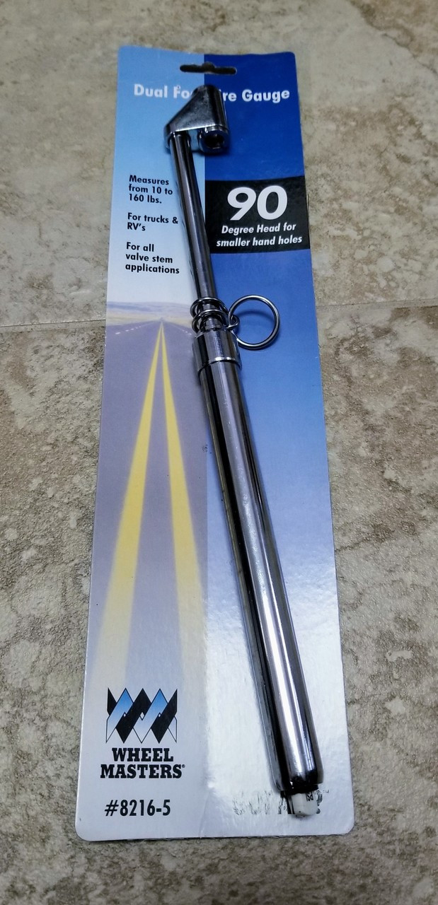 90 Degree Tire Gauge With Package