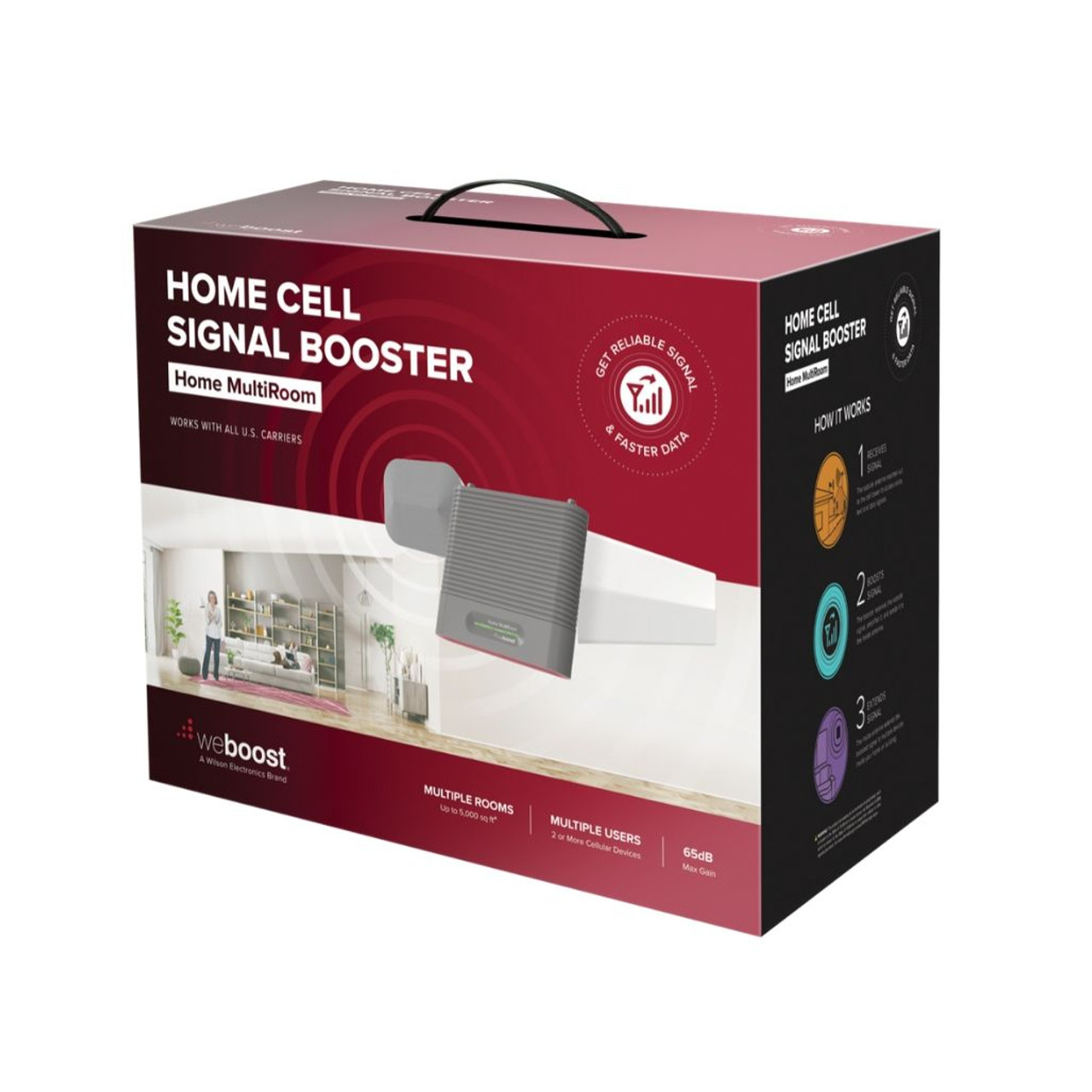 Weboost Home MultiRoom Cellular Booster