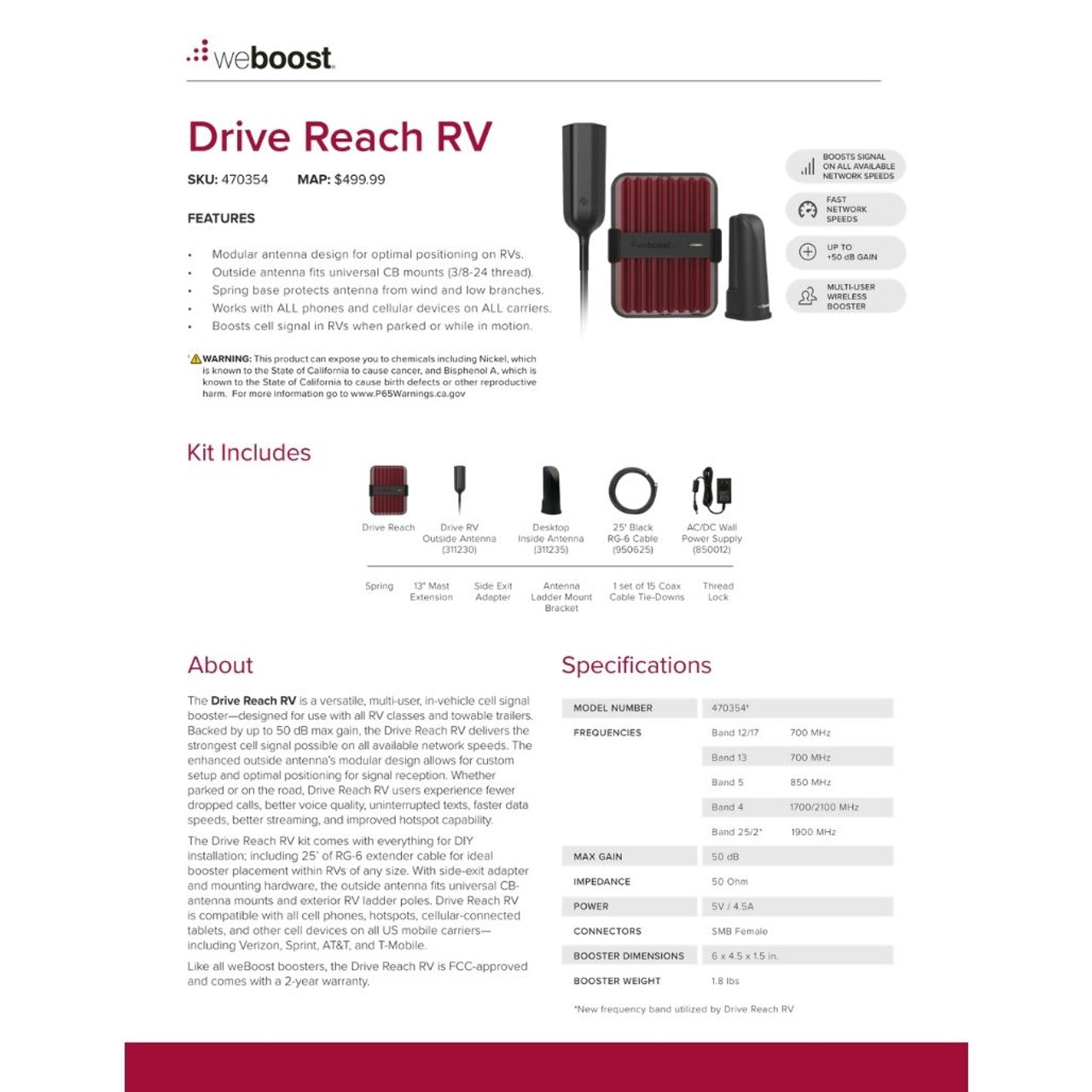 WeBoost Drive Reach RV