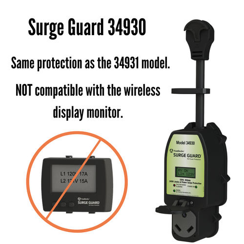 30A Surge Guard Portable Total Electrical Protection 34930