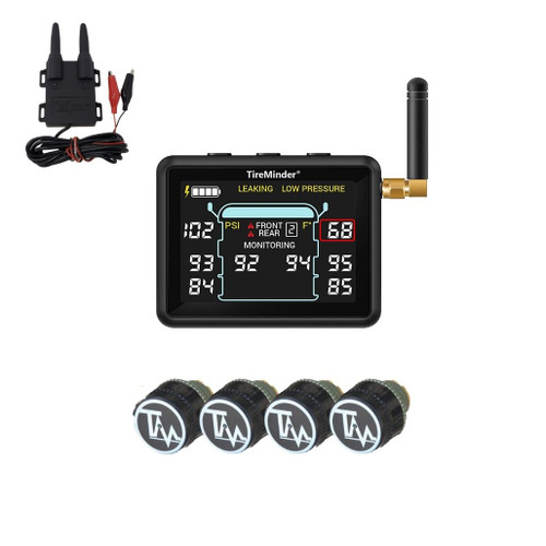 TireMinder i10 RV TPMS with 4 to 12 Sensors