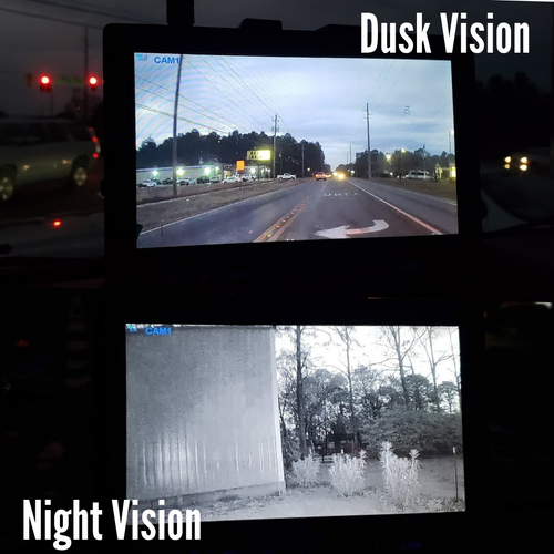 "Vision Works HD Wireless Rearview Observation Kit with Quadview Recordable 9"" Monitor and Camera Kit"