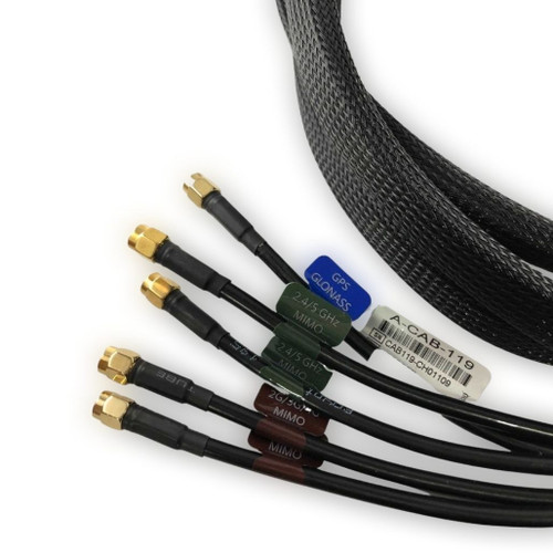 Poynting 5-in-1 Roof Antenna Extension Cable (5 Meters)