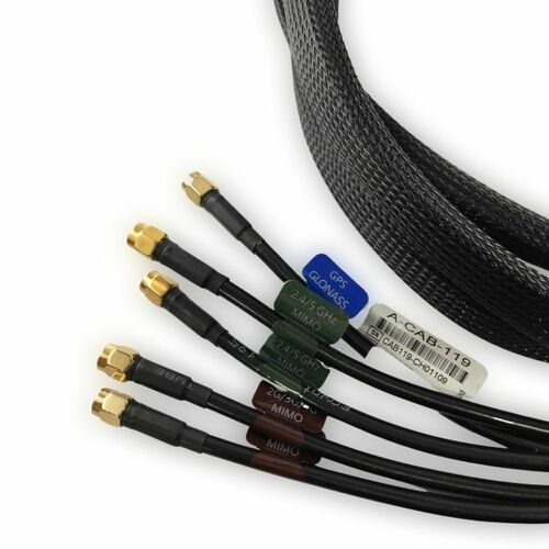 Poynting 5-in-1 Roof Antenna Extension Cable (3 Meters)