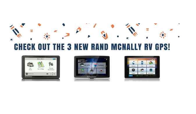 Rand McNally Introduces 3 NEW RV GPS Units