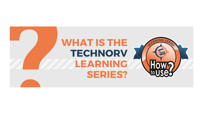 What is the TechnoRV Learning Series?