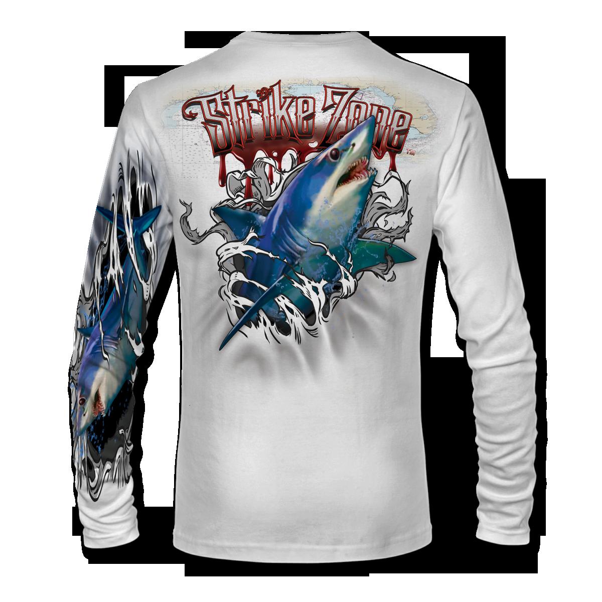jason-mathias-strike-zone-mako-shark-fishing-shirt-back-white.png