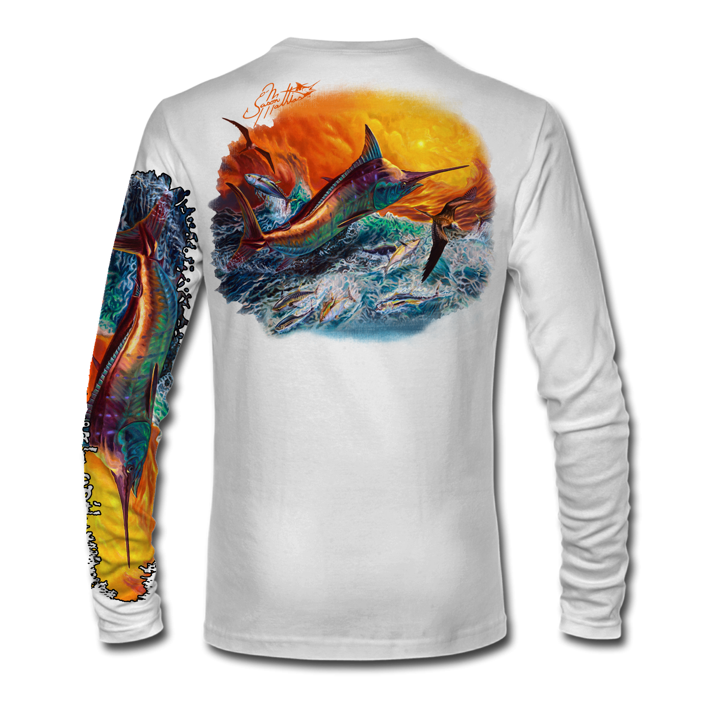 marlin-jumping-fishing-shirt-white-back-jason-mathias-art.png