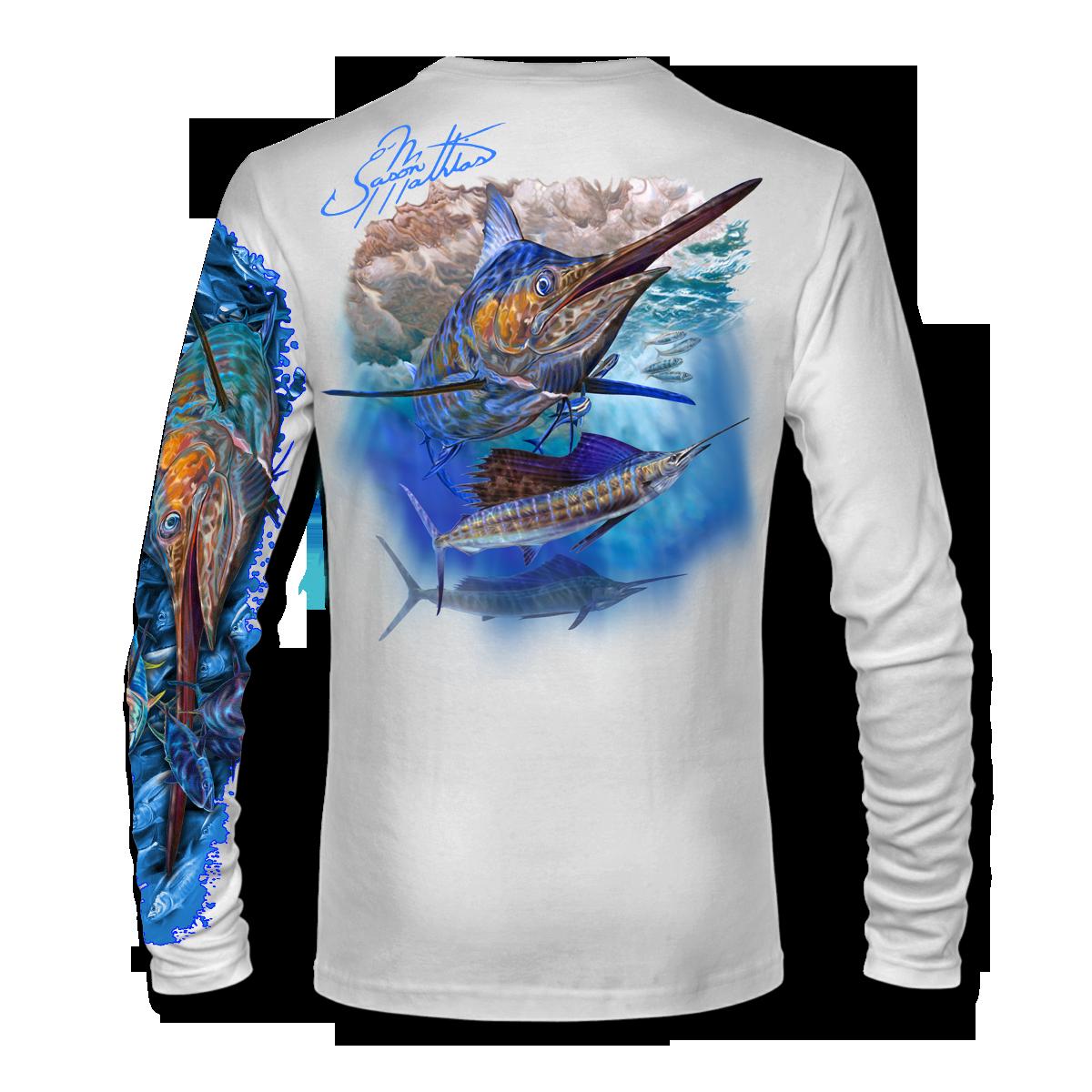 marlin-sailfish-white-shirt-jason-mathias-apparel-gear-fishing-gamefish-art-sportfish-art-tee-shirt-t-shirt-clothing.png