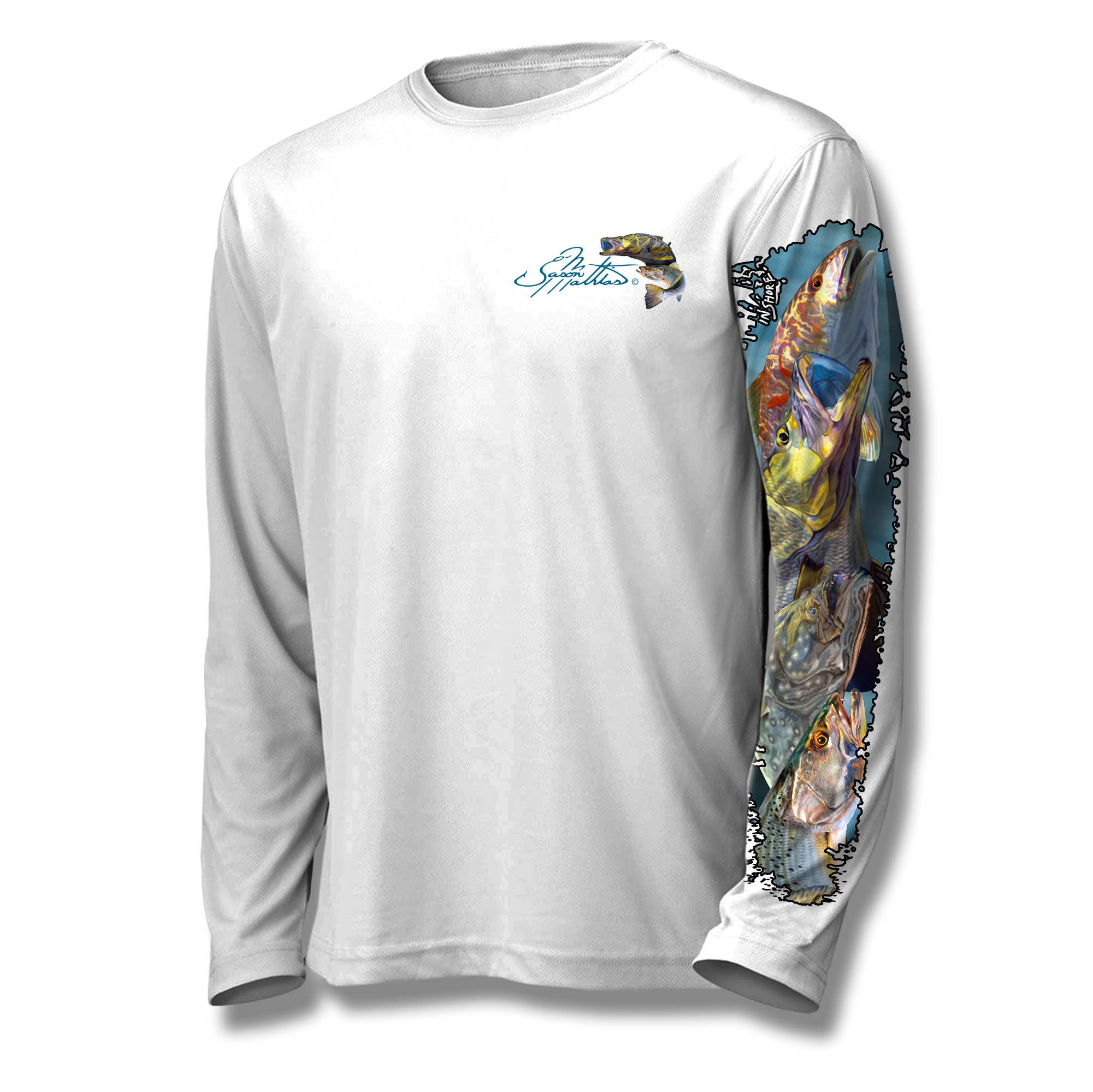 southeast-inshore-slam-jason-mathais-art-shirt-white-front.png