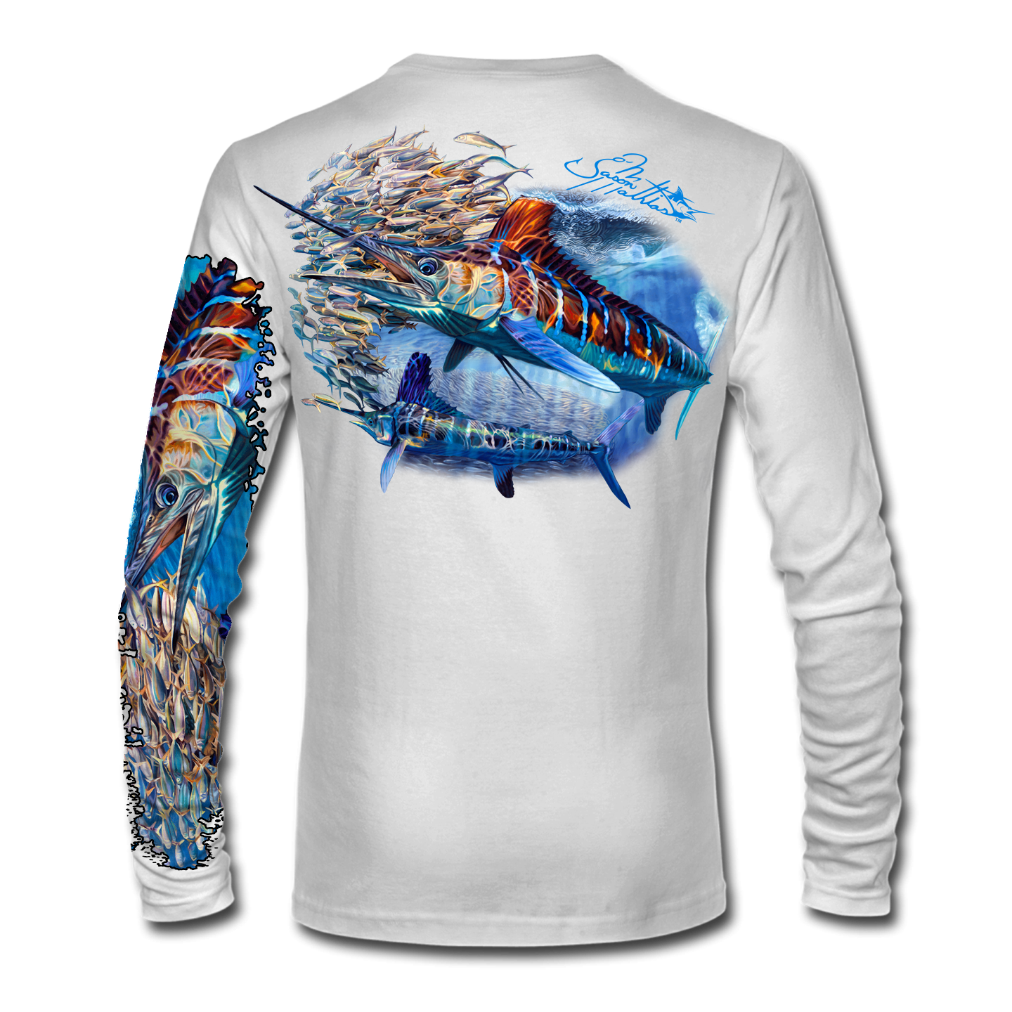 white-marlin-shirt-apparel-jason-mathias-white-back.png