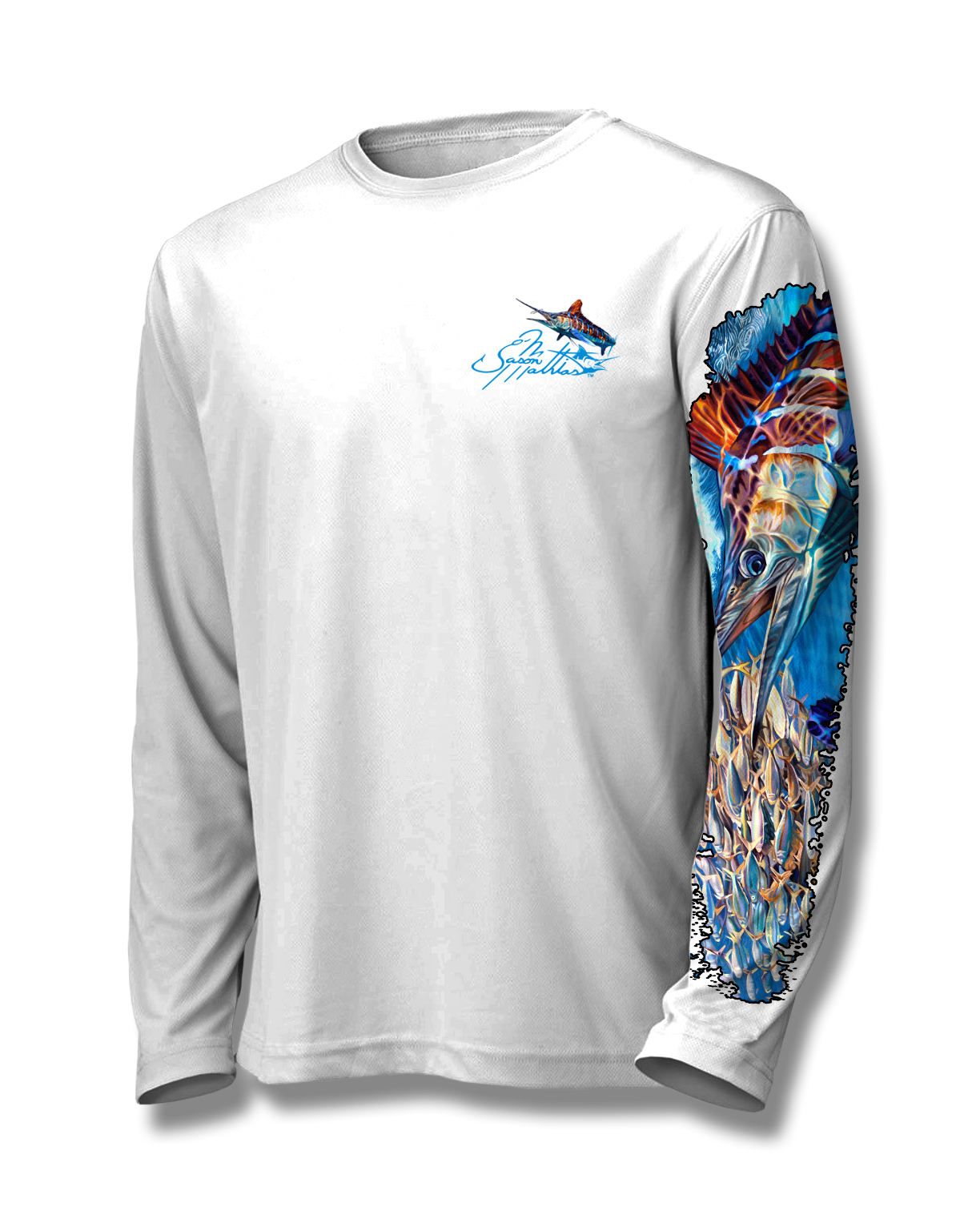 white-marlin-shirt-apparel-jason-mathias-white-front.png