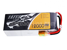 Gens Tattu 12000mAh 6S1P 15C Lipo Battery Pack With XT90 Plug
