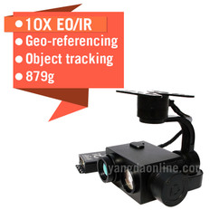 Eagle Eye-10IE 10X EO/IR Dual Sensor Drone Zoom Camera With Tracking And Geotagging