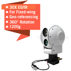 Eagle Eye-30IE-U 2-Axis 30X EO/IR Dual Sensor Zoom Camera With Tracking And Geotagging