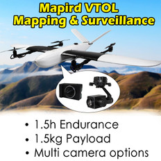 YANGDA Mapird VTOL Fixed-wing For Mapping And Surveillance