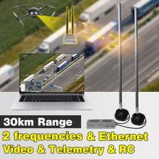 YANGDA Videopass-H30 30KM Long Range Digital Video And Data Link