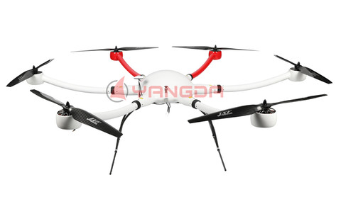 YD6-1600S Long Flight Time Waterproof Hexacopter Frame