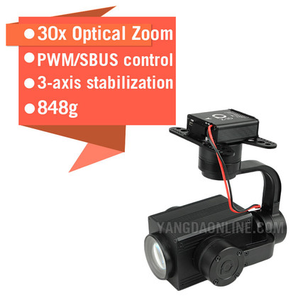 Sky Eye-30HZ 1080P 30X Zoom Camera For Drone
