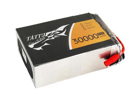 Gens Tattu 30000mAh 22.2V 25C 6S1P Lipo Battery Pack with AS150 +XT150 Plug