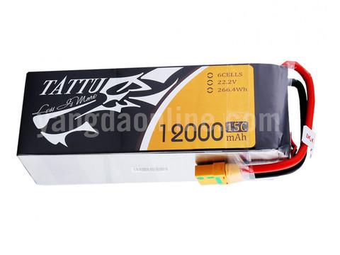 Gens Tattu 12000mAh 6S1P 15C Lipo Battery Pack With XT90 Plug