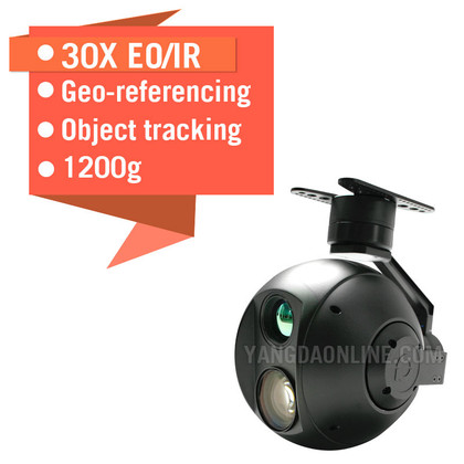 Eagle Eye-30IE 30X EO/IR Dual Sensor Drone Zoom Camera
