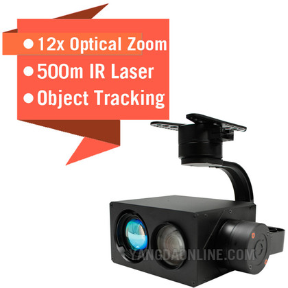 Sky Eye-12NLT 12X 1080P IR Laser Night Vision Zoom Camera