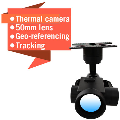 Sky Eye-T50  3-Axis Gimbal For Thermal Camera With 50mm Lens