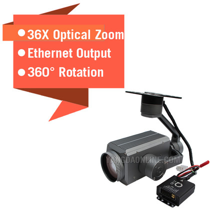 Sky Eye-36SN 1080P 36X Night Vision Zoom Camera For Drone