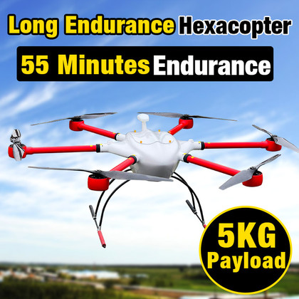 YANGDA YD6-1600M Long Endurance Heavy Lift Hexacopter