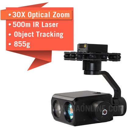 YANGDA Sky Eye-30NLT 30X Night Vision IR Laser Drone Zoom Camera