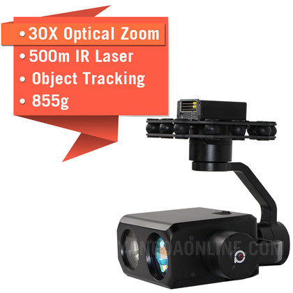 YANGDA Sky Eye-30NLT 30X Night Vision IR Laser Drone Zoom Camera