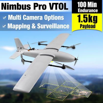YANGDA Nimbus Pro VTOL Fixed-wing Drone For Mapping And Surveillance