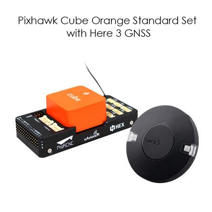 Pixhawk Cube Orange Standard Set with Here 3 GNSS