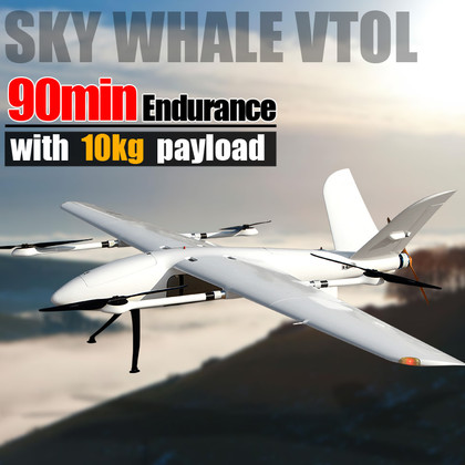 YANGDA Sky Whale Heavy Lift Long Endurance Electric VTOL Drone