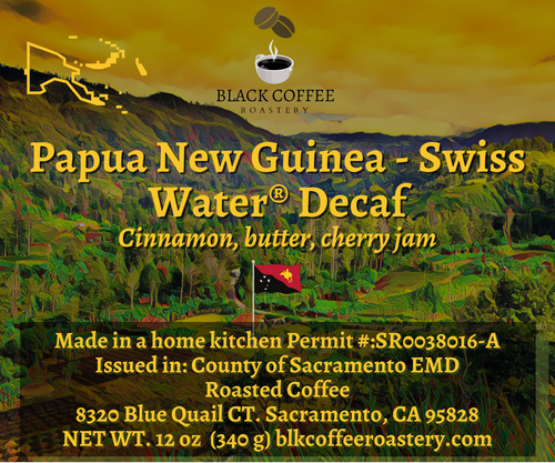 Papua New Guinea - Swiss Water® Decaf