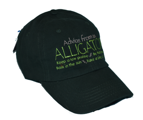 Advice from Nature Caps - Alligator