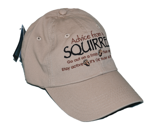 Advice from Nature Caps - Squirrel