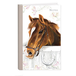 Hardcover Notebook - Horses