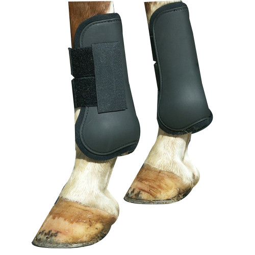 Open Front Jumping Boots