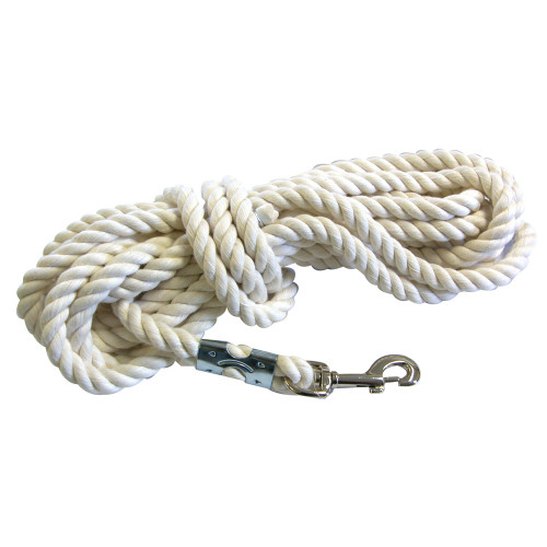 Cotton Rope Lunge Line - 25'