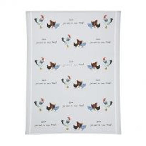 Cotton Tea Towel - Girls Just Want to Have Fun!