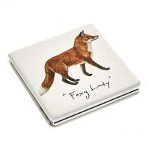 Compact Mirror - Foxy Lady