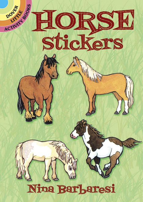 Horse Stickers Booklet