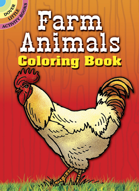Farm Animals Colouring Booklet